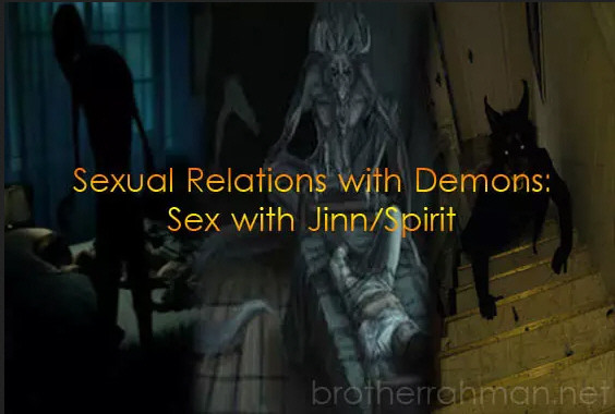 Sex and intimacy: Having Sexual relation with Djinn Jinn