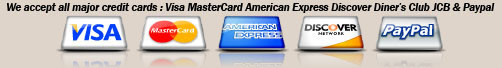 BROTHER RAHMAN We accept all major credit cards