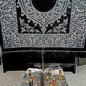 Spiritually Powerful Prayer Mat Prayer Rug Musallah Janamaz Islamic Prayer mat Muslim Prayer Rug Feautured Brother Rahman